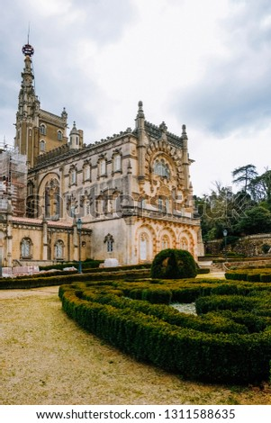 The Gothic Palace - Bussaco, Portugal #1311588635