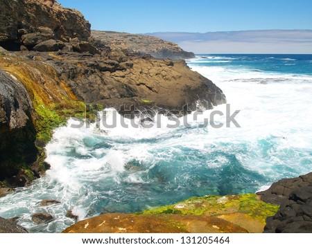 Magical and colourful coast in Australia #131205464