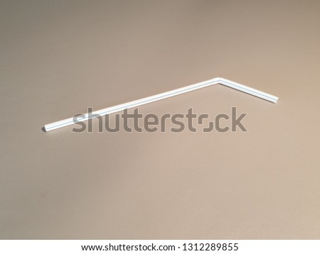 Straws for drinks. Straws for drinks close-up. #1312289855