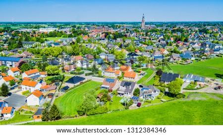Nature drone panorama shot #1312384346