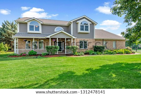 Residential Real Estate Exterior #1312478141