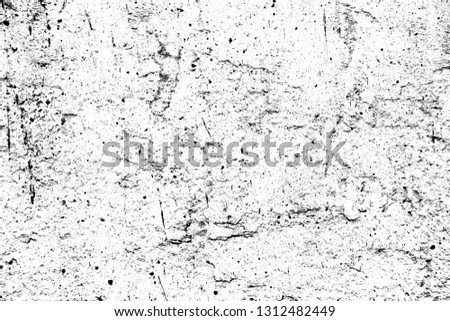 Black and white grunge. Distress overlay texture. Abstract surface dust and rough dirty wall background concept. Distress illustration simply place over object to create grunge effect . #1312482449