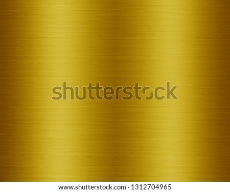 Gold metal texture background #1312704965