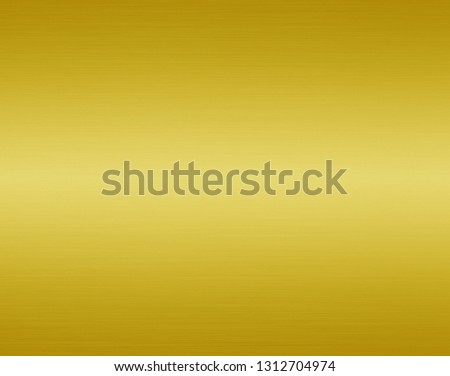 Gold metal texture background #1312704974