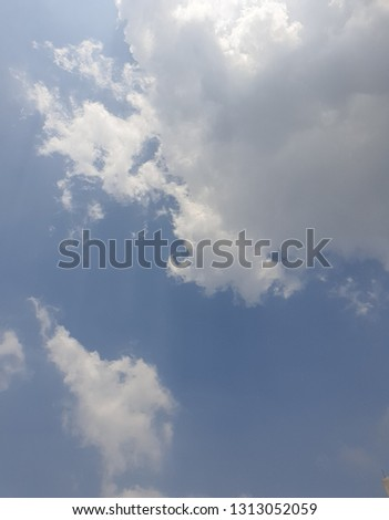 The daytime sky in Bangkok #1313052059