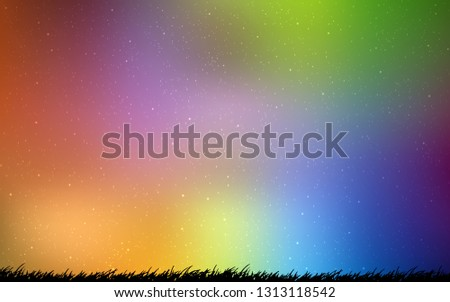 Abstract vector background. Colorful illustration in abstract style with gradient. Backdrop for your design, pattern. #1313118542