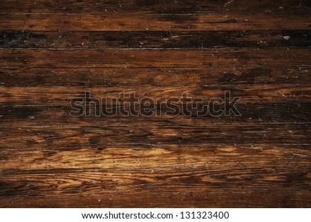 dark old grunge vintage wood panels used as background #131323400