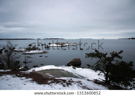 Gulf of Finland scenic view, Kotka town #1313600852