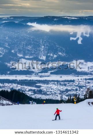 Hafjell ski resport Norway #1314611342