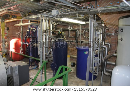 WATER TREATMENT IN HEATING CENTRAL #1315579529