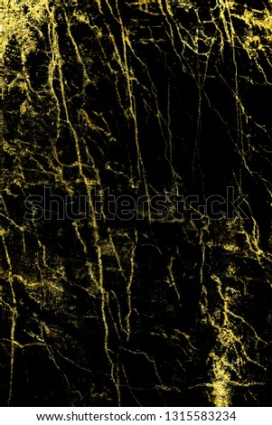 Black and gold marble texture design for cover book or brochure, poster, wallpaper background or realistic business and design artwork. #1315583234