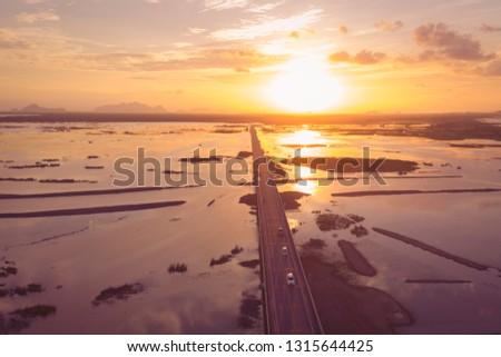 road trip aerial view #1315644425