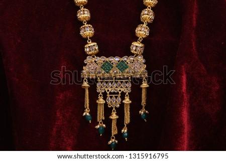Fancy designer golden high quality golden long neck set for woman fashion #1315916795