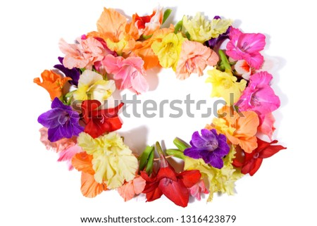 Hawaiian Wreath - Flower Wreath - Tropical Wreath #1316423879