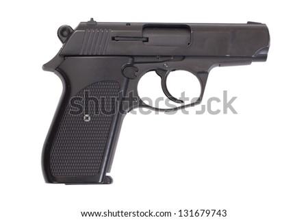 hand gun isolated #131679743