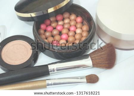 Beauty background make up #1317618221