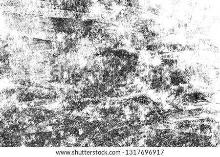 Grunge black and white urban Texture. Dark messy dust overlay distressed background. Abstract wallpaper dotted, scratched, noise and grain. #1317696917