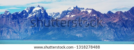Patagonia landscapes in Southern Argentina #1318278488