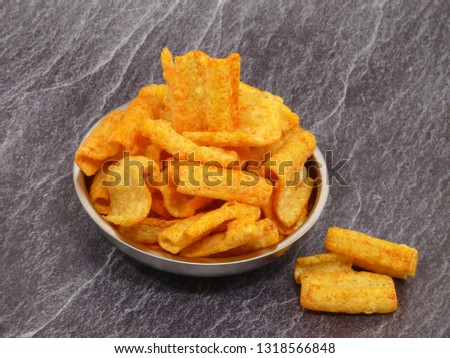 lentil chips, new product on market #1318566848