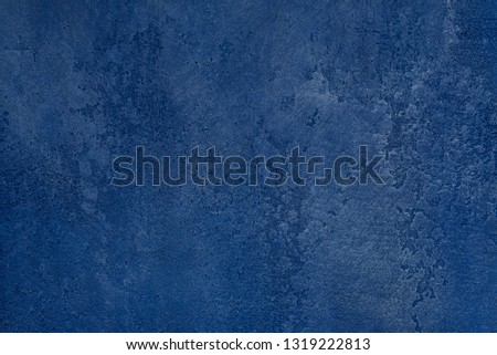 blue wall with scratch elements loft #1319222813