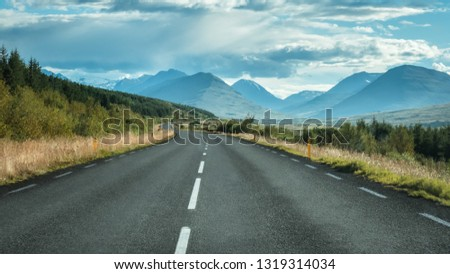 Iceland road travel #1319314034