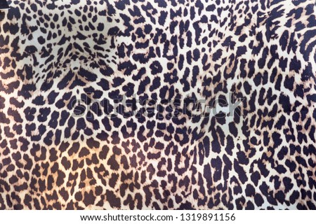 abstract leopard fur for texture background #1319891156