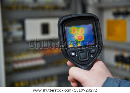 thermal imaging inspection of electrical equipment #1319920292