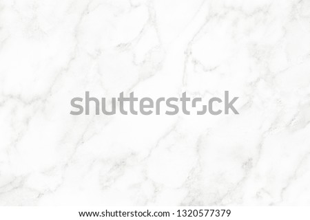 White marble surface for do ceramic counter, white light texture tile gray background marble natural for interior decoration and outside. #1320577379