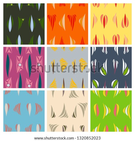 Vector abstract simple pattern hand drawn for your design #1320852023