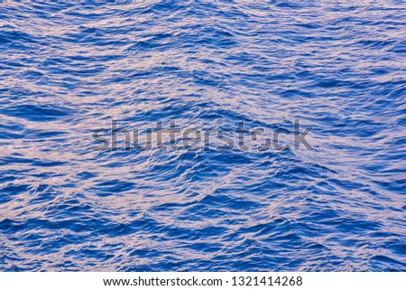 Picture of the Water Pattern Texture Background