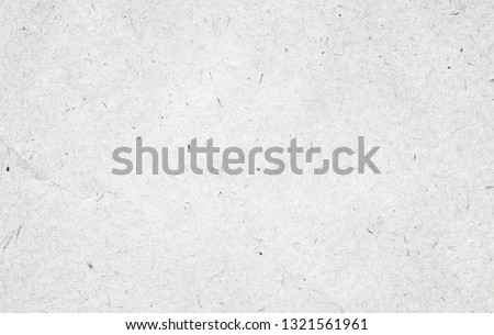Recycled white, grey vintage horizontal note paper texture, light background. Royalty-Free Stock Photo #1321561961