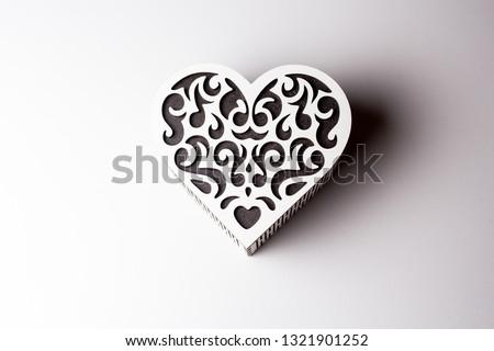 heart shaped box #1321901252