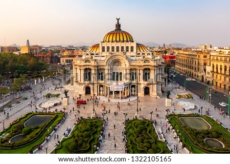 Palacio De Bellas Artes Mexico City #1322105165