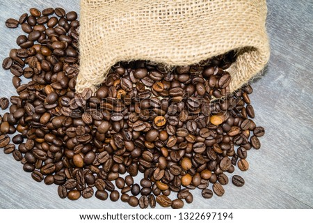 roasted Coffee beans #1322697194