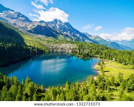 Lake Viola - Val di Campo - Poschiavo - Switzerland #1322731073