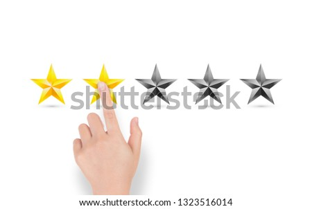 Rating of Five Star With Hand Pick #1323516014