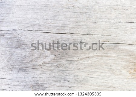 Close up rustic wood table with grain texture in vintage style. Surface of old wood plank in macro concept with empty template and copy space for abstract background or wallpaper and other design. #1324305305