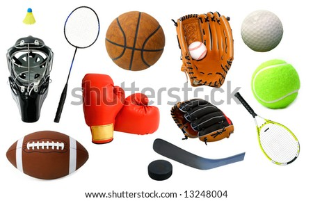 Page of Sports Items #13248004