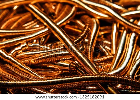 Metal background metallic background metal shavings recycled materials #1325182091