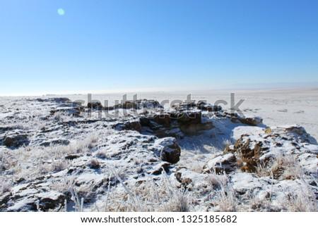 Rural Colorado Winter Mornings #1325185682