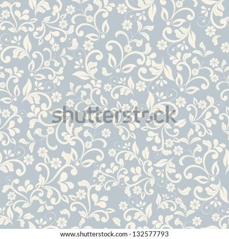 seamless floral pattern #132577793