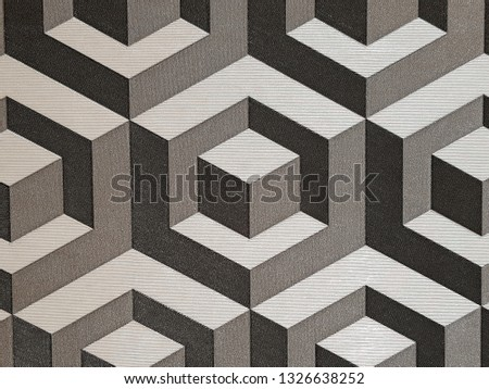 gray geometric figures background, geometric shapes, abstract background, patterns for design #1326638252