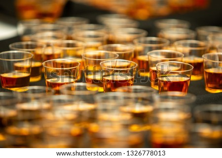 Dozens of Shots of Whiskey Bourbon or Hard Liquor #1326778013