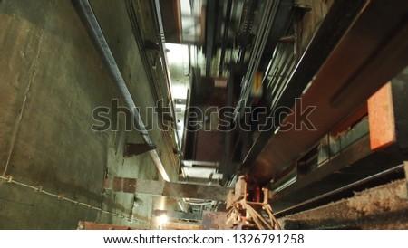 Elevator, Light, Steel, Technik,  #1326791258