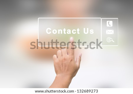 Contact Us Royalty-Free Stock Photo #132689273
