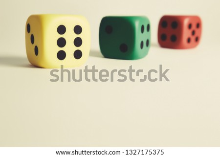 colorful cubes on a white background with beautiful shadows #1327175375