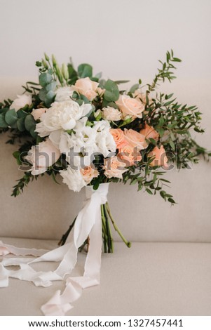 wedding bridal bouquet #1327457441