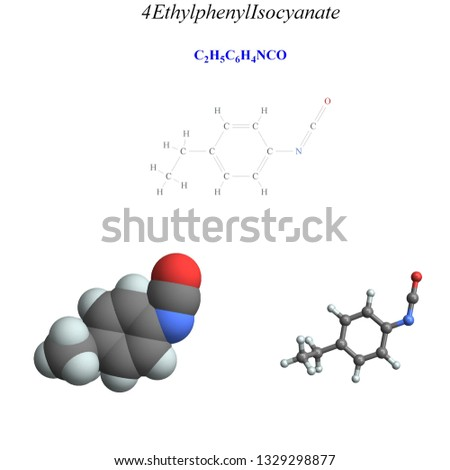 Molecular structure, 3D molecular plot and structure diagram, amines #1329298877