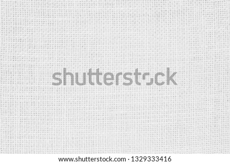 Abstract Hessian or sackcloth fabric or hemp sack texture background. Wallpaper of artistic wale linen canvas. Blanket or Curtain of cotton pattern with copy space for text decoration.  #1329333416