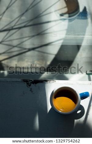 Morning espresso cup #1329754262